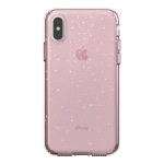 Speck® Presidio™ CLEAR + GLITTER Case For Apple® iPhone® X, Pink