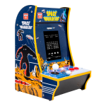"Atari Arcade1Up Counter Cade, Space Invaders, 18.5""H x 11.5""W x 12.5""D"