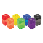 Office Depot® Brand Manual Pencil Sharpeners, Assorted Colors