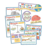 Carson-Dellosa Measure Your World Bulletin Board Set, Grades 2-5