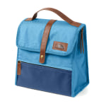 "Arctic Zone Canvas Lunch Sack, 10""H x 5""W 9""D, Blue"