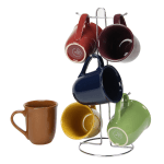 Gibson Home Cafe Amaretto 7 Piece