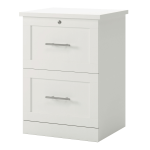 Realspace 2 Drawer 17 D Vertical