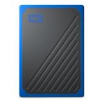Western Digital® My Passport Go 1TB Portable External Solid State Drive, Black/Cobalt, WDBMCG0010BBT-WESN