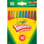 Crayola Mini Twistables Crayons Clear Assorted