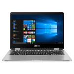 "Asus VivoBook Flip 14"" Touchscreen 2-in-1 Laptop (Celeron/4GB/64GB)"