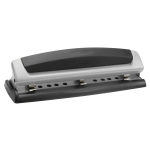 Swingline® Precision Pro® Desktop Punch, 10-Sheet Capacity, Silver
