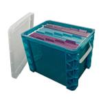 Super Stacker Storage Box, 19 Liters, Sea Breeze