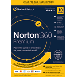 Norton™ 360 Premium, For 10 Devices, 1-Year Subscription, Product Key
