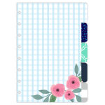 TUL® Discbound Paper Tab Dividers, Junior Size, Assorted Fashion, Pack Of 5 Dividers