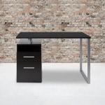 Flash Furniture 47 W Harwood Desk