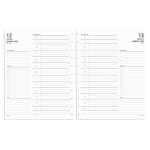 TUL® Discbound Daily Refill Pages, Letter Size, January to December 2020