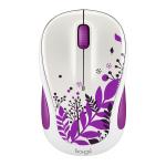 Logitech® M325C Wireless Mouse, Purple Peace