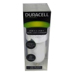 Duracell® Dual Car Charger, White, LE2319