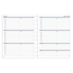 TUL® Discbound Weekly Refill Pages, Letter Size, January to December 2020