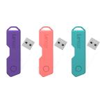Lexar® JumpDrive® TwistTurn2 USB 2.0 Flash Drive, 16GB, Assorted Colors, LJDTT2-16GABOD20