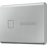 Samsung T7 MU-PC500S/WW 500 GB Portable Solid State Drive - External - PCI Express NVMe - Silver - Smartphone, Smart TV, Gaming Console, Tablet PC Device Supported - USB 3.2 (Gen 2) Type C - 256-bit Encryption Standard - 3 Year Warranty