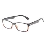 ICU Eyewear Rectangular Reading Glasses Black