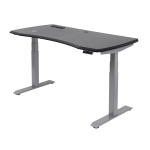 WorkPro 60 Inch W Electric Height-Adjustable Standing Desk with Wireless Charging