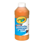 Crayola Washable Paint Orange 16 Oz