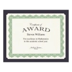 Geographics Certificate Holder Navy Recycled 10