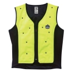 Ergodyne Chill-Its Evaporative Cooling Vest, Premium, XX-Large, Lime, 6685