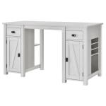 Ameriwood Home Farmington DeskCraft Table Ivory