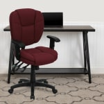 Flash Furniture Fabric Mid Back Multifunction