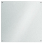 Lorell Unframed Dry Erase Glass Whiteboard