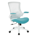 Office Star WorkSmart Manager Chair Turquoise