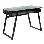 Flash Furniture 43 W Glass And