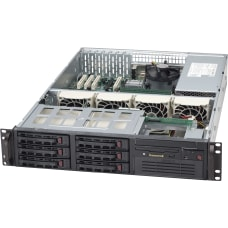 Supermicro SC822T 400LPB Chassis Rack mountable