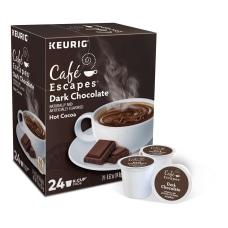 Caf Escapes Dark Chocolate Hot Cocoa