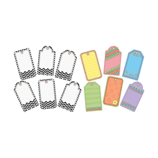 Barker Creek Accents Tags Pack Of
