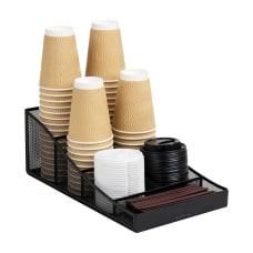 Mind Reader Trove 7 Compartment Metal