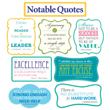 Scholastic Teachers Friend Notable Quotes Bulletin