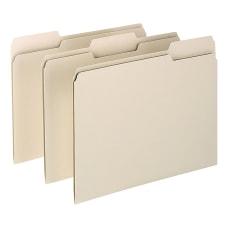Oxford 13 Cut File Folders Letter