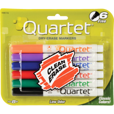 Quartet Dry Erase Markers Fine Point