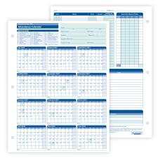 ComplyRight 2020 2021 Fiscal Attendance Calendar
