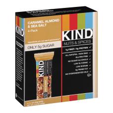 KIND Healthy Snack Bars Sea SaltCaramelAlmond
