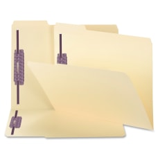 Smead Manila Folders With SafeSHIELD Coated