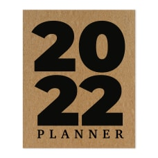 TF Publishing Monthly Planner 8 x