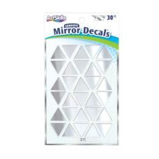 Artskills Mirror Decals Silver Pack Of