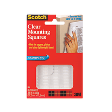 Scotch Removable Wall Mounting Tabs 1116
