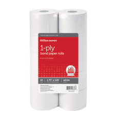 Office Depot 1 Ply Paper Rolls