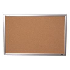 SKILCRAFT Cork Bulletin Board 18 x