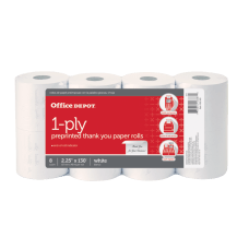 Office Depot 1 Ply Preprinted Thank