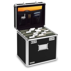 Ideastream Locking Storage File Box Letter