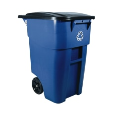 Rubbermaid Square Brute Big Wheel Container