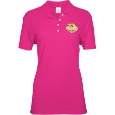 Ladies Polo Cotton Embroidered